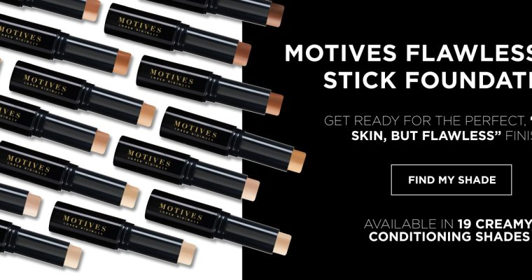 Get the Perfect Match with the NEW Flawless Face Stick Foundation