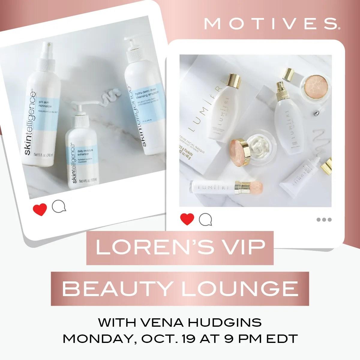 You're Invited-Loren's VIP Beauty Lounge Spa Night
