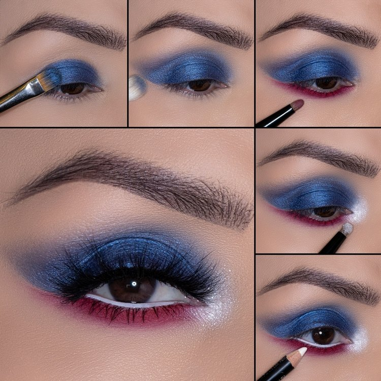 Eye Makeup You'll Want to Try This 4th of July