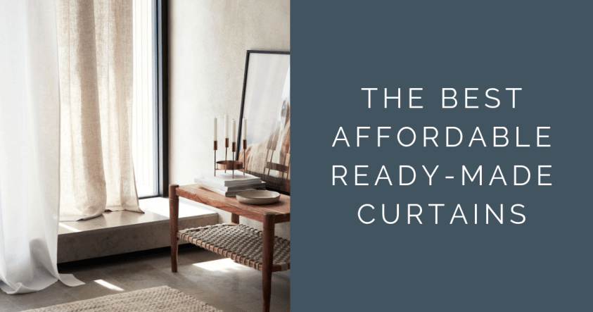 The best affordable ready made curtains