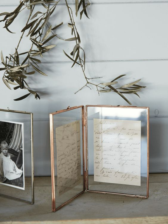 Budget Art Alternatives - Apartment Therapy - Framed Family Recipe