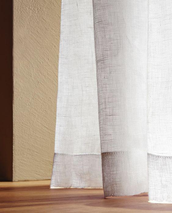Zara White Sheer Readymade Curtains