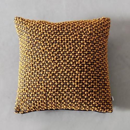 cosy autumn blog - yellow cushion