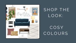 Cosy Colours Shop The Look Title and Moodboard