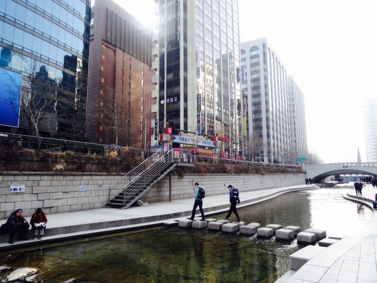 Cheonggyecheon Seoul South Korea