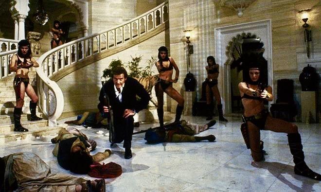 James Bond Octopussy Monsoon Palace