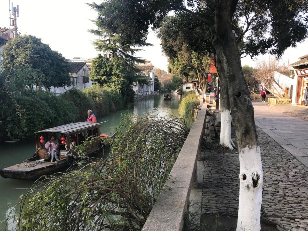 Pingjiang Road canal cruise Suzhou China