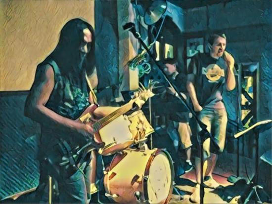 The house band Lennon Bar Qingdao Shandong Province China