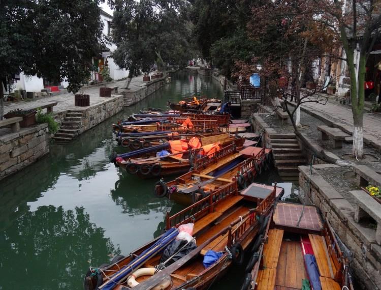 canal street Tongli Water Town Suzhou China