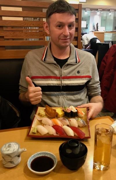 Gran Gourmet Sushi Tokyo Station Japan