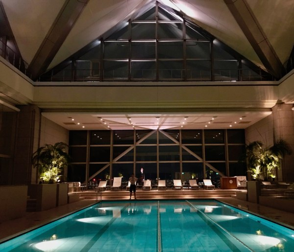 Swimming pool Park Hyatt Tokyo The Club On The Park Spa