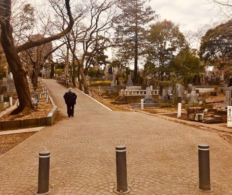 Aoyama Cemetery Tokyo.