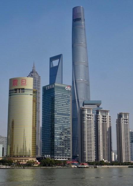 Shanghai Tower & Aurora Plaza Pudong Shanghai.