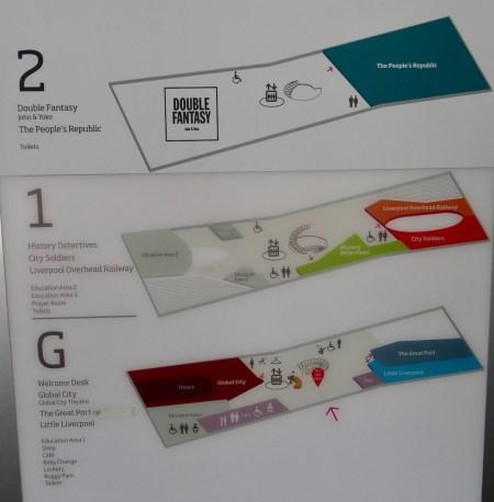 Floor plan Museum of Liverpool.