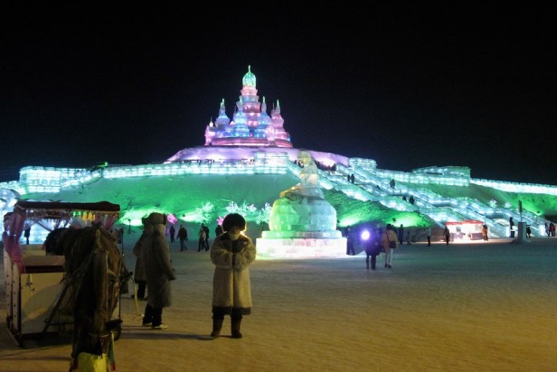 Harbin Ice and Snow Sculpture Festival China.