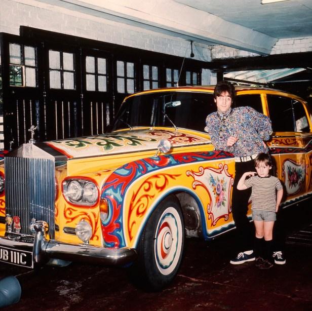 John Lennon's psychedelic Rolls- Royce 1967.