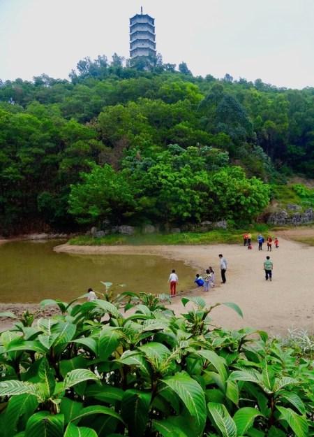 Mingcui Lake Shenzhen International Garden and Flower Expo Park.