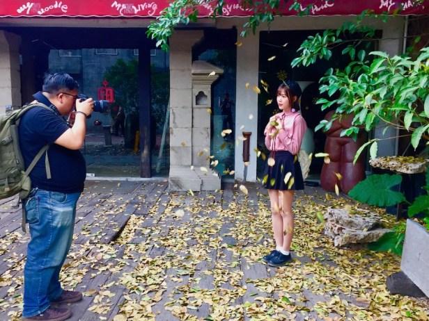 Photoshoot OCT Loft Creative Culture Park Shenzhen.