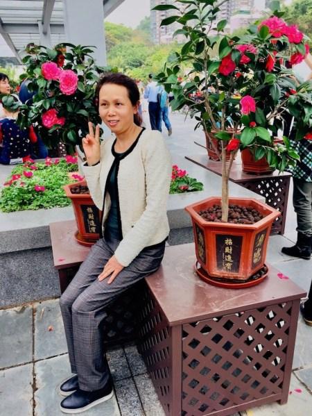 Rose garden Shenzhen International Garden and Flower Expo Park.