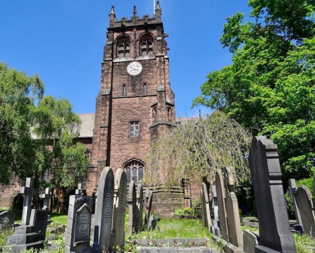 St. Peter's Church Liverpool Eleanor Rigby.