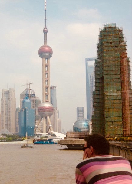 The Pudong Skyline Shanghai July 2009.