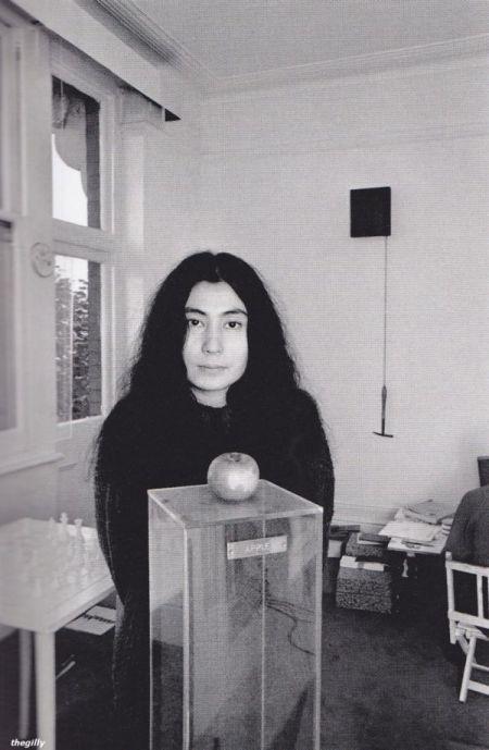 Yoko Ono 1966.