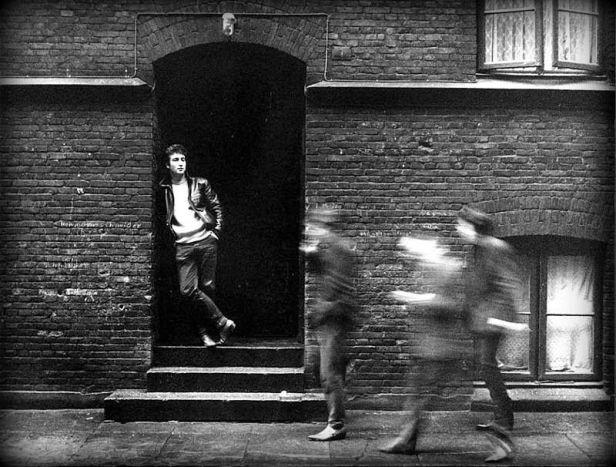 Young John Lennon in Hamburg by Jurgen Vollmer.