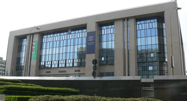 The European Council Building Brussels.