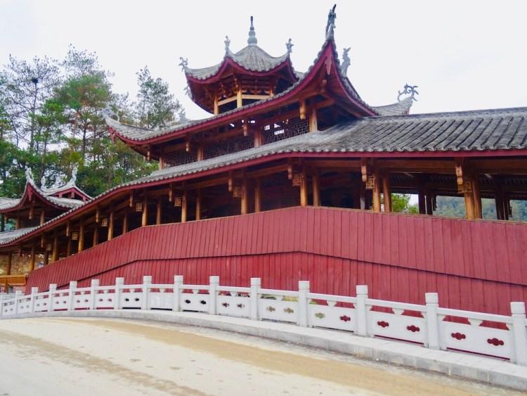 Wenhong Bridge Taishun County China.