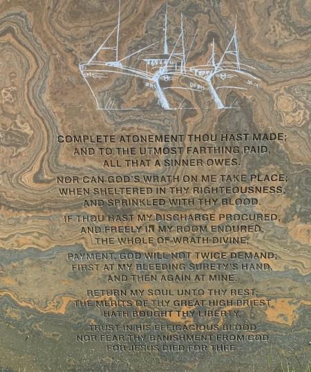 Charles Spurgeon quote gravestone Beoraid Cemetery Morar.