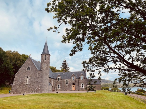 Our Lady of Perpetual Succour & St Cumin Morar Scotland.