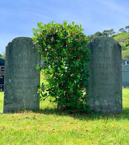 SAS founder David Stirling's grave Beoraid
