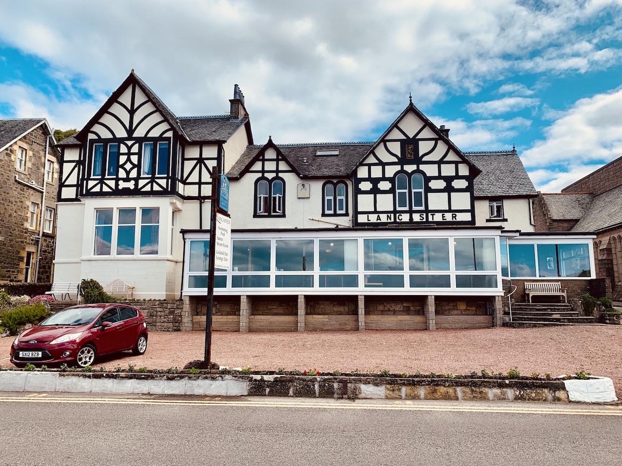 The Lancaster Hotel Oban Scotland.