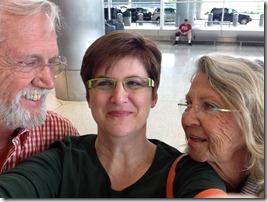 Airport reunion!
