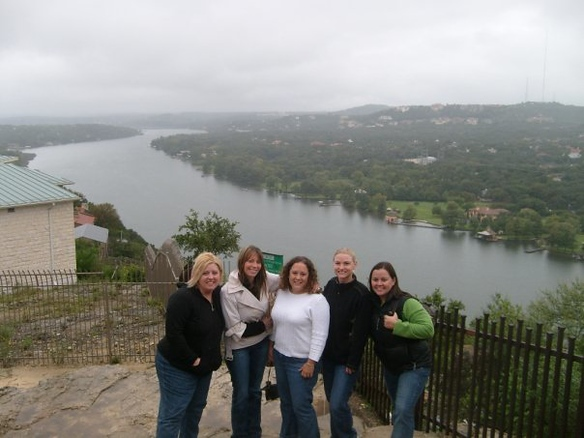 Lake Austin from the top of Mt Bonnell(photo by April)