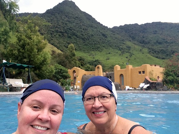 Saturday, 12/20 we were taken up to Papallacta Hot Springs.  Swimming caps mandatory!http://www.termaspapallacta.com