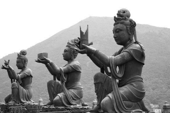Offerings to Buddha