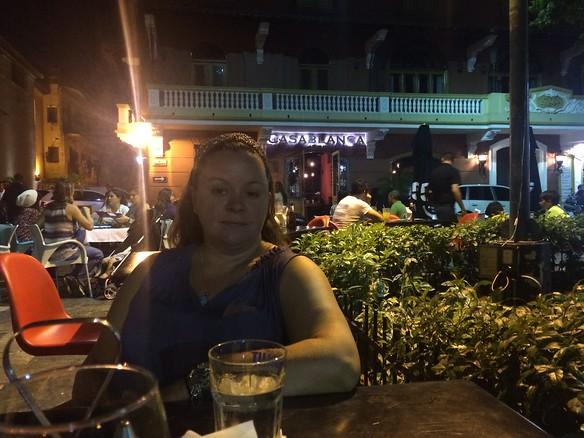 Dinner at Casablanca in Casco Viejo