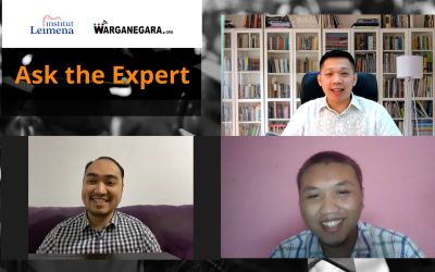Equipping Fresh Graduates in Webinar Ask The Expert: Job Opportunities Post COVID-19