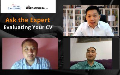Webinar Ask The Expert, Sarana Pembinaan Para Lulusan Baru