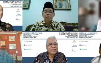 """Webinar Internasional """"Kontribusi Madrasah dalam Kerukunan Umat Beragama"""""""