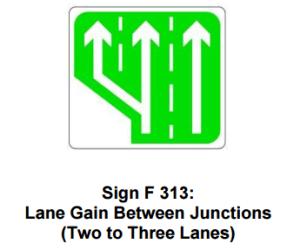 information traffic signs