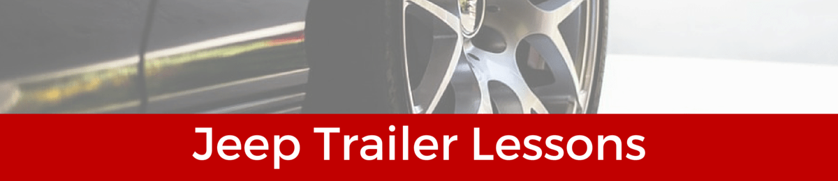 jeep trailer lessons, horse box lessons, towing lessons