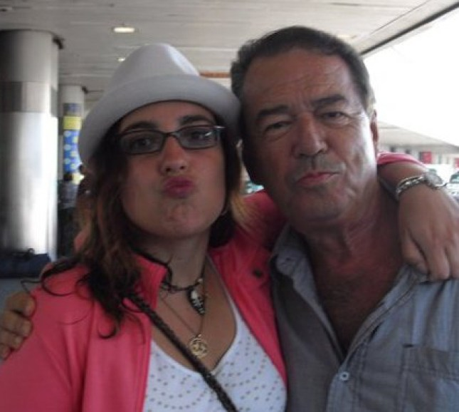 Ana and her dad