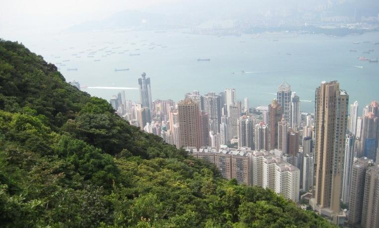 View of Hong Kong from Victoria Peak (Photo: Ana Ribeiro)