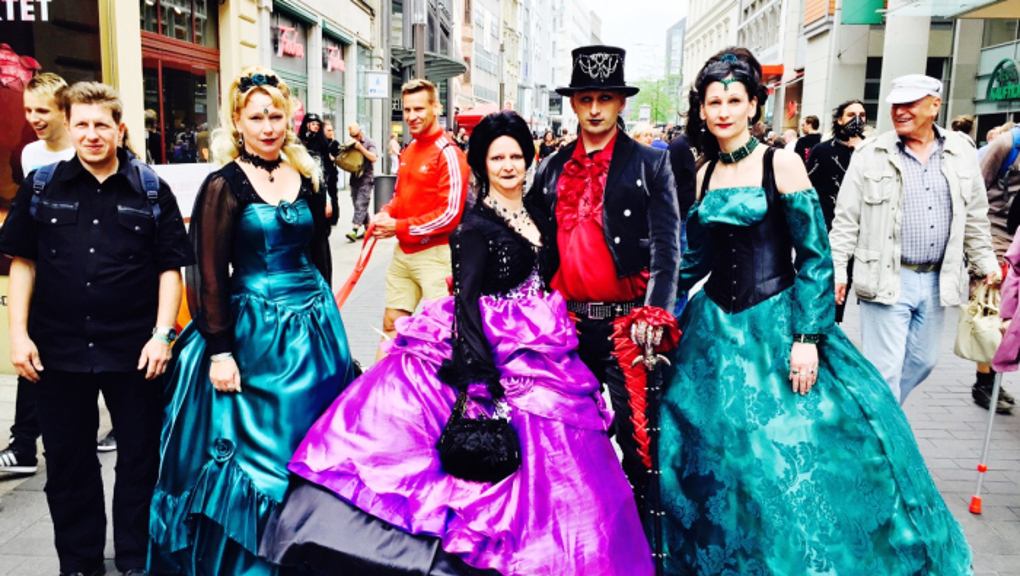 Wave-Gotik-Treffen 2015. Photo: Ana Ribeiro