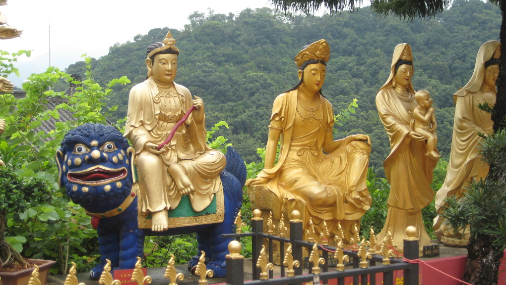 Ten Thousand Buddhas Monastery, Hong Kong. (Photo: Ana Ribeiro)