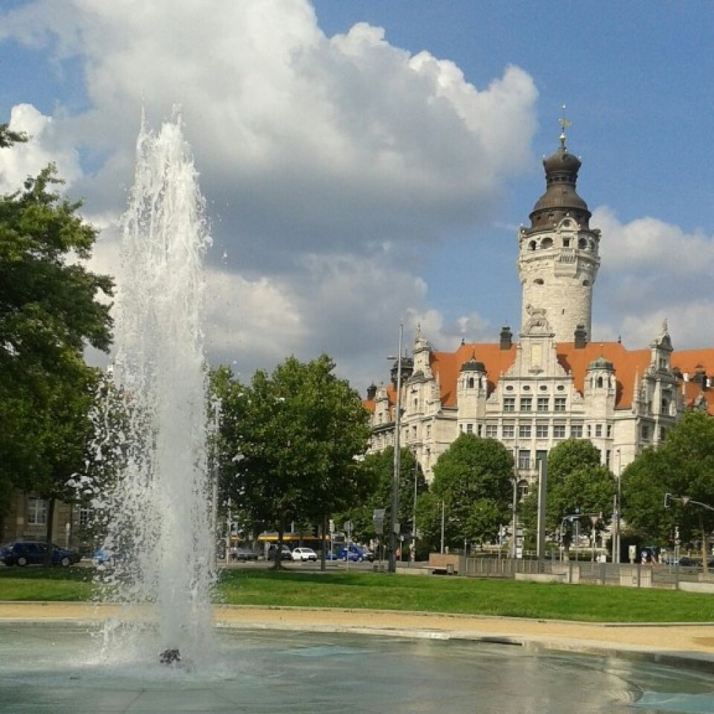To legally live in Leipzig, you must register at the Neues Rathaus or another Bürgeramt (city office). (Photo: Marjon Borsboom)