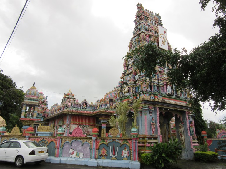 Siva Soopramaniar Kovil Hindu temple in Mauritius. (Photo: Maximilian Georg)