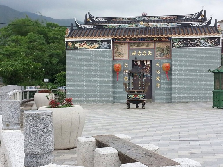 This pretty little temple in Hong Kong came as a welcome surprise to the curious but jaded tourist. (Photo: Helena Flam)